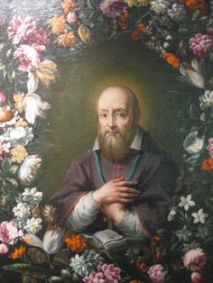 "St. Francis de Sales – French Mystic, Bishop, Doctor of the Church, Tertiary of the Order of Minims.     ""Never be in a hurry; do everything quietly and in a calm spirit. Do not lose your inner peace for anything whatsoever, even if your whole world seems upset."""