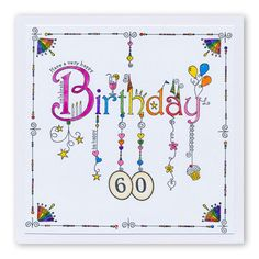 Linda's Birthday Dangles Unmounted Clear Stamp Set - Metarnews Sites Doodle Lettering, Creative Lettering, Typography, Diy Note Cards, Diy Cards, Handmade Birthday Cards, Happy Birthday Cards, Birthday Doodle, Art Birthday
