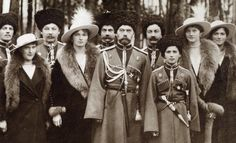 The royal family Romanov is overthrown by its people in 1918. Everyone including children is killed by the movement of The Russian Revolution. They were interested in fashion from France, they were wearing european court fashion, very much influenced by french style.