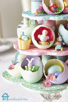 Remodelando la Casa: Easter Egg Tree Centerpiece -Kathy H