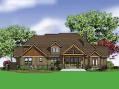 Plan No.327512 House Plans by WestHomePlanners.com