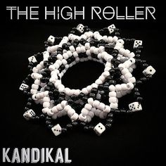 Edm Festival 3D Kandi Cuff The High Roller by KandiKal on Etsy