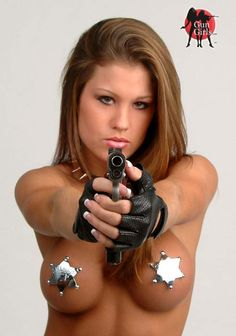 hot nude chicks with guns pics