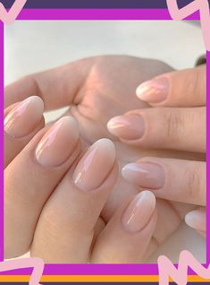 What are baby boomer nails how to wear the manicure winter gel nail designs ombre Nails Beige, Nails Yellow, White Nails, Coffin Nails Ombre, Pink Ombre Nails, Pink Nails, Art Turquoise, Nail Manicure, Nail Polish