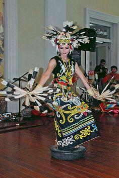 Tari Gong from dayak Tribal of West Kalimantan