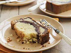 Nutella-Swirl Pound Cake by foodandwine for huffingtonpost  #Pound_Cake #Nutella