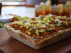 Get this all-star, easy-to-follow Buffalo Chicken Mac 'n' Cheese recipe from Eddie Jackson