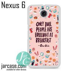 Oscar Wilde Quote YG Phone case for Nexus 4/5/6