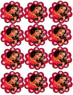 Elena of Avalor Birthday Favors, 3rd Birthday Parties, Birthday Balloons, Disney Princess Cupcakes, Princess Party, Princess Elena Of Avalor, Hello Kitty Cupcakes, Party Organization, Holidays And Events