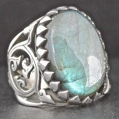 Sterling Silver Ring for Men with Fascinating