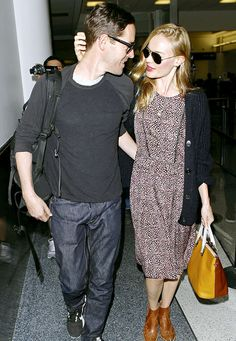 Just married and never more in love! Kate Bosworth and Michael Polish looked head over heels at LAX after their Montana wedding.