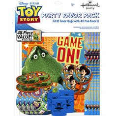Purchase Party Favors - Toy Story - Value Pack - Set - Hallmark from Partytoyz Inc. Bags Game, Favor Bags, Disney Toys, Disney Pixar, Toy Story Videos, Toy Story Game, Activity Sheets, Party Supplies, Party Favors