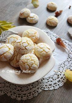 COOKING JULIA: LEMON CRINKLES (CRAQUELÉS AU CITRON)