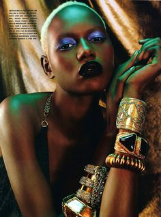 Chanel Iman, Jourdan Dunn & Melodie Monrose for Vogue Italia February 2011 by Emma Summerton (14 photos) - Xaxor