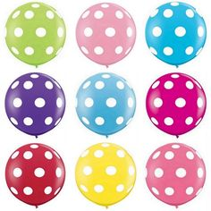 Vibrant Summer BRIGHTS Polka Dot Large Birthday Banner Cupcake Polka Dot Girl Personalized. Colorful First Birthday Candle