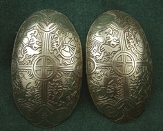 The original of these oval brooches was found in Birka, Sweden, and date from late 8th to early 9th centuries, C.E.