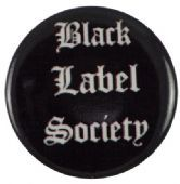 Black Label Society - 'Name' Button Badge