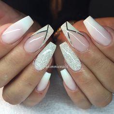 Faded french, diamond & v-french with a twist #naglar #nagelkär #nagelteknolog #naglarstockholm #nagelförlängning #uvgele #gele #gelenaglar #gelnails #nails #nailart #nailswag #nailfreak #lillynails #nailfashion #nailpassion #nailobession #nailextensions #dope #dopenails #blingnails #passion #love #kimmienails #hudabeauty
