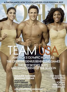 #Vogue Olympic Athletes Cover June 2012