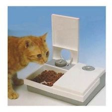 CAT MATE C20 AUTOMATIC 2 MEAL/2 DAY PET FEEDER CAT/KITTEN/DOG BOWL