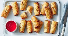 An Aussie fav with a twist! These 4-ingredient sweet and sour pork sausage rolls are super easy to throw together, making them perfect for your next party.