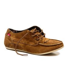 This Mocha Golia Suede Oxford  - Women is perfect! #zulilyfinds