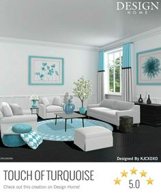 French living room by Silver French Living Rooms, My Design, House Design, Outdoor Furniture Sets, Outdoor Decor, Star Designs, My Room, Dining Table, Couch