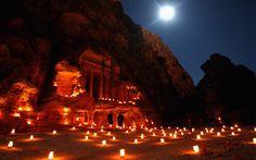 Petra, Jordan (night tour)
