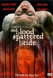 The Blood Spattered Bride Poster
