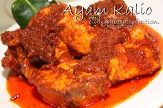 Curlybabe's Satisfaction: Ayam Kalio