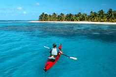 Explore paradise on Belize's Lighthouse Reef. Kayak, snorkel, hike, see Mayan ruins and more on this fully guided active vacation from REI.