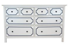 Anne O'verlays Kit for IKEA Hemnes (8 drawer).   This site has overlays specifically made for Ikea furniture
