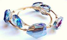 Tutorial: how to make wire wrapped bangle bracelets