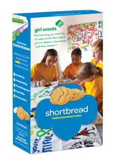 Shortbread Girl Scout Cookies