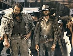 Bud Spencer e Terence Hill Chuck Norris, Retro Hits, Bud Spencer, Mejores Series Tv, Westerns, Terence Hill, Photo Star, God Forgives, Laurel And Hardy