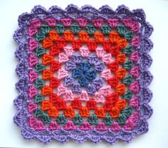 When I made my Summer Garden granny square throw (pictured above), I felt it needed a good edging to finish it off. Something that would pull the whole thing together and give it that final flourish. And as is quite...
