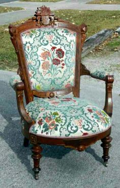 eastlake victorian parlor chairs swing egg chair garden 99 best furniture images walnut burl chaif v 1870s