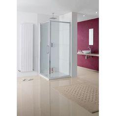 "Lakes Bathrooms Coastline 29"" x 78"" Side Panel Shower Enclosure"