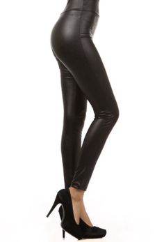 Available in Regular and Curvy Girl sizes!!! These leggings are shown all over the fashion world right now and I am SO excited about how they look and feel!!!!! They feature a high waistline which is