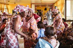 Sierra Leonean Engagement   West african weddings