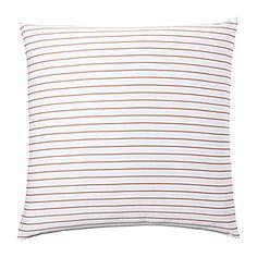 Percy Stripe Euro Sham – Coral #serenaandlily