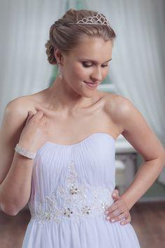 Mecco Wedding dress MW10075 One Shoulder Wedding Dress, Wedding Dresses, Fashion, Bride Dresses, Moda, Bridal Wedding Dresses, Fashion Styles, Weding Dresses, Dress Wedding