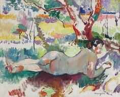 Henri Manguin : Nu sous les arbres (1905)