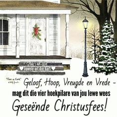 Christmas Blessings, Christmas Words, Christmas Messages, Christmas Wishes, All Things Christmas, Christmas Time, Christmas Crafts, Merry Christmas, Afrikaanse Quotes