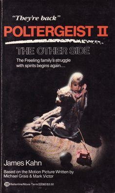 Poltergeist II the Other Side by sometimesagreatnovel on Etsy, $1.75