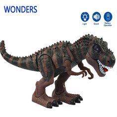 Cheap electric animal, Buy Quality rex electric directly from China battery operated toys Suppliers: Model toy big tyrannosaurs rex walking electric animal battery operated flash eye Assemble for child kids Tyrannosaurus, Tiranosaurios Rex, Blitz, Electronic Toys, Battery Operated, Pet Toys, Kids Playing, Lion Sculpture, Walking