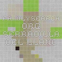 familysearch.org Serradilla del llano