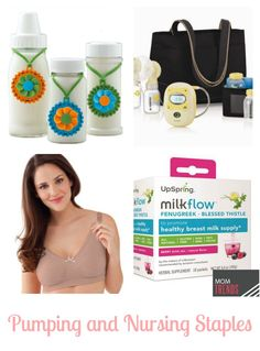 Must-haves products for #breastfeeding moms preparing to go back to work. Thanks for the love, @momtrends + @SerenaNorr!