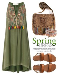 """""""Sweet Spring Dresses 1371"""" by boxthoughts ❤ liked on Polyvore featuring Love Sam, Aéropostale and springdress"""
