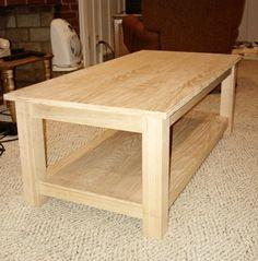 DIY coffee table.